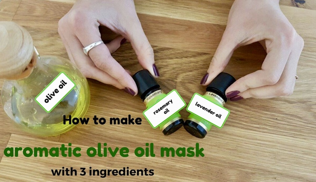 olive oil health benefits, hair mask DIY