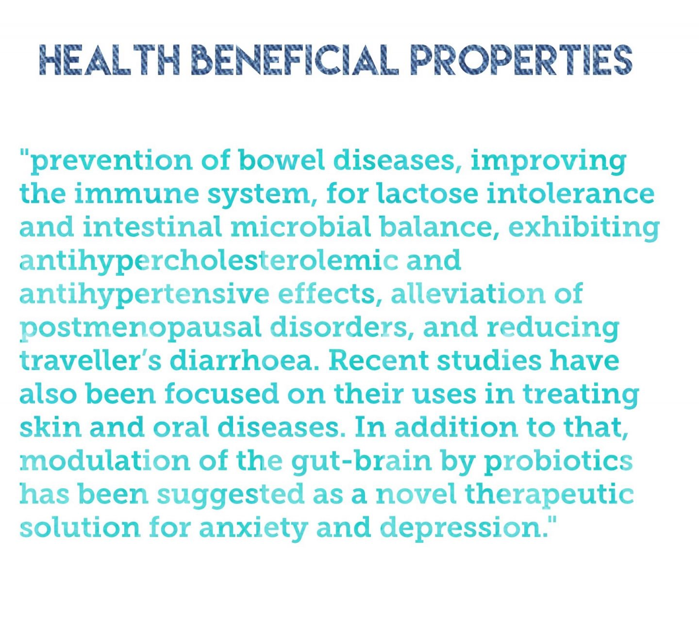 probiotics health benefits