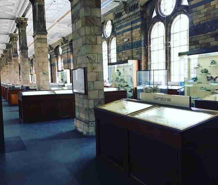 London Natural History Museum Gemstones