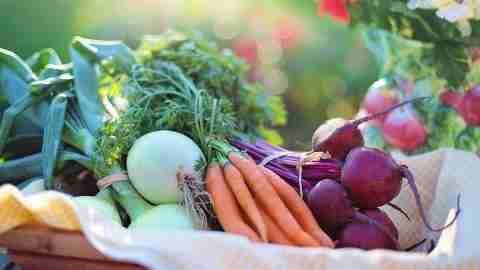 Vitamin A and beta-carotene , carrots