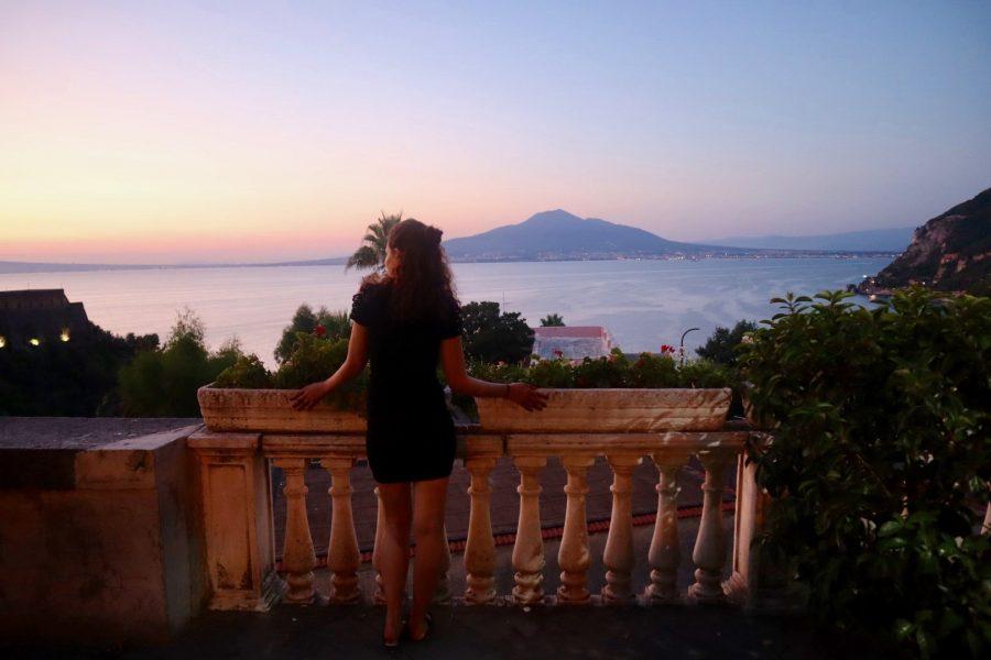 Amalfi- mount Vesuvius